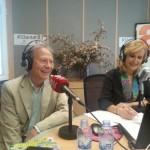 Pepe Plana y Nieves Herrero en Capital Radio