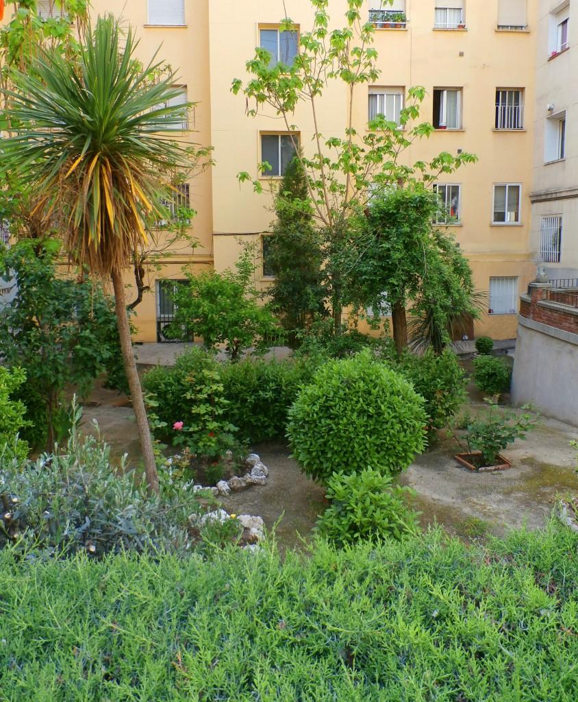 Decoración de jardines pequeños en el Barrio de la Concepción en Madrid
