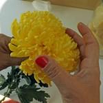 la flor amarilla