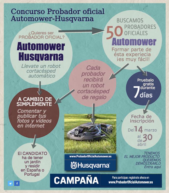 Concurso probador oficial Automower-Husqvarna